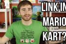 Link in Mario Kart 8!